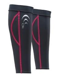 [好也戶外] C3fit Performance 腿套/灰-紅條紋 No.3F00345Y-02