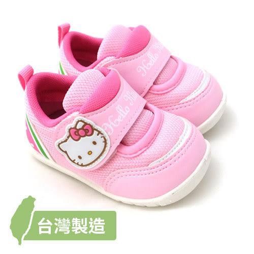 【錢豪童裝童鞋】14/15號|三麗鷗Hello Kitty學步運動鞋