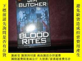 二手書博民逛書店JIM罕見BUTCHER --BLOOD RITESY16696
