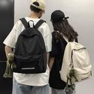 後背包 潮牌雙肩包男休閑簡約輕便男士旅行包韓版百搭學生書包背包女潮 交換禮物
