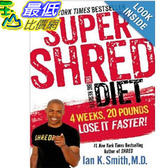 【103玉山網】 2014 美國銷書榜單 Super Shred: The Big Results Diet: 4 Weeks 20 Pounds Lose It Faster!  $764