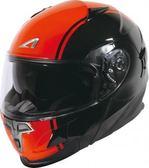 [中壢安信]法國 ASTONE RT1000A AB4 黑橘 全罩式 可掀式 安全帽 可樂帽 內置墨片 下巴可掀