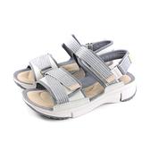 Clarks Tri Walk 涼鞋 灰色 女鞋 厚底 CLF39370SS19 no017