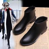 雪靴 馬丁靴女英倫風新款短靴女秋冬季雪地鞋女粗跟韓版小跟鞋百搭