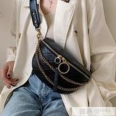 高級感包包洋氣女包2020流行新款潮韓版百搭質感斜背包蹦迪款小包  中秋特惠
