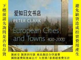 二手書博民逛書店【罕見】European Cities And Towns: 4