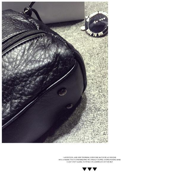 "ZUCA""S - 水洗皮包超正韓版手提包機車包 - GR-8787"