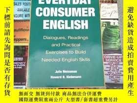 二手書博民逛書店EVERYDAY罕見CONSUMER ENGLISH Dialogues, Readings and Practi
