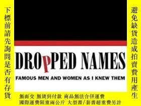 二手書博民逛書店Dropped罕見NamesY364682 Frank Langella Harper 出版2012