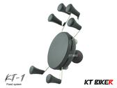 [中壢安信]KT BIKER 單售 KT-1 手機架 六爪架 六點式 摩托 機車 支架 KTP103