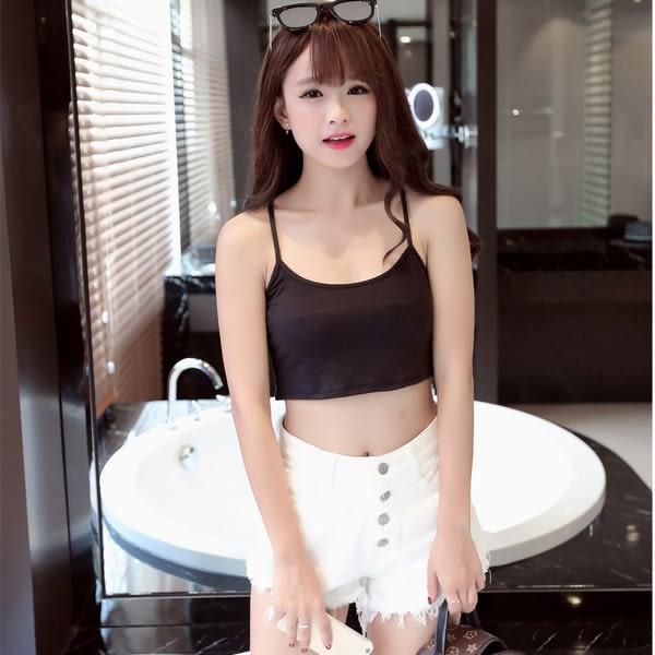 【GZ22】短版背心 韓版修身莫代爾吊帶背心 小可愛