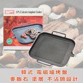韓式電磁爐烤盤 電磁爐烤盤 韓式麥飯石烤盤 無煙 不黏鍋 燒烤 烤肉