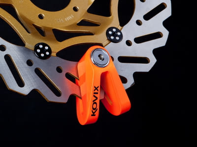 KOVIX KV1 橘色版 公司貨 送原廠收納袋+提醒繩 德國鎖心 碟煞鎖