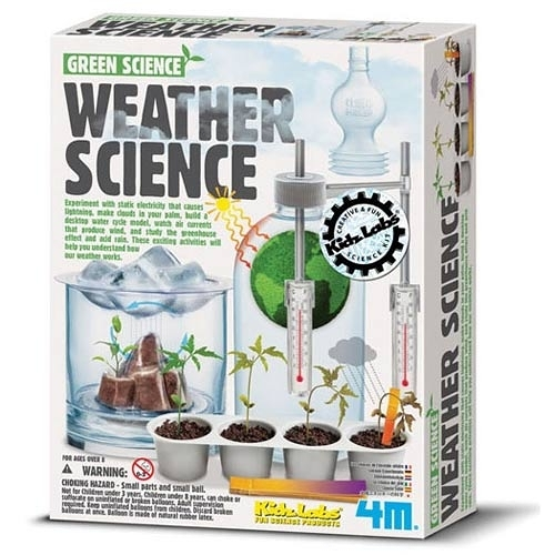 氣象科學 Green Science-Weather Science 將氣象變化縮小 讓您在家就可以觀察到大自然的偉大奧妙