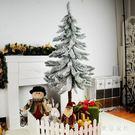 圣誕節白色鬆樹仿真雪鬆擺件活動裝飾用品圣誕場景櫥窗布置道具 QQ14384『東京衣社』