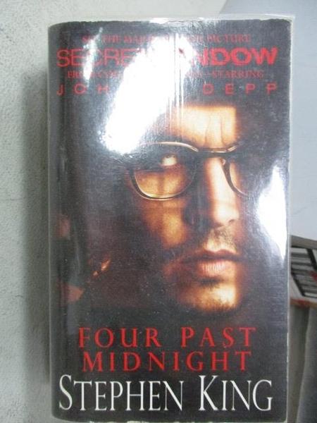 【書寶二手書T1/原文小說_MOO】Four Past Midnight_Stephen King