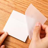 便利貼 N次貼 便條紙 可撕便簽 便籤紙 標籤貼紙 正方 分類貼紙 透明便利貼【K078】慢思行