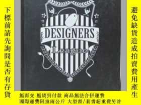 二手書博民逛書店Designers罕見League 設計師聯盟 平面設計Y225