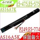 ACER AS16A5K 電池(保固最久)-宏碁 E5-774 電池,F5-573 電池,E5-774G-518Y,E5-475G,F5-573G,F5-573T,TMP249