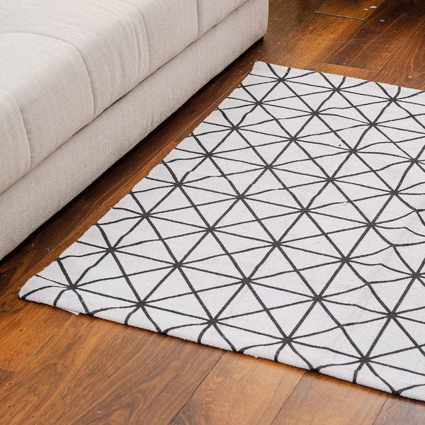 簡單線條地毯120x120-生活工場