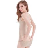 連體塑身內衣收腹束腰燃脂塑形美體產後瘦身神器夏天夏季超薄款女