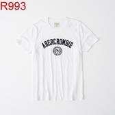 Abercrombie & Fitch AF A&F A & F 男 T-SHIRT R993