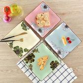 年終盛宴❤全館85折牛排盤子西餐盤家用和風壽司盤子創意餐盤陶瓷酒店用品菜盤