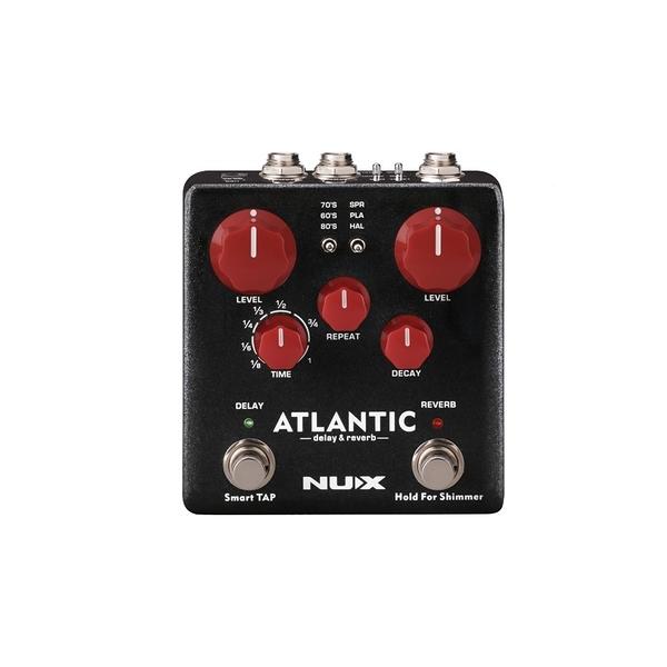 凱傑樂器 NUX Atlantic Delay & Reverb 空間系效果器 全新公司貨