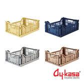 土耳其Ay-kasa M折疊收納箱4入組-品格紳士