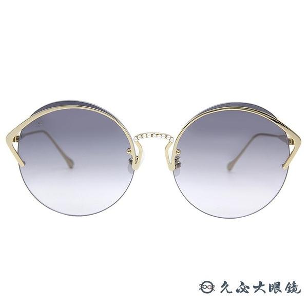 For Art's Sake 太陽眼鏡 Margarita CT4 (金) 時尚珍珠 圓框 久必大眼鏡