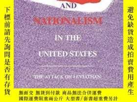 二手書博民逛書店Regionalism罕見And Nationalism In The United StatesY25556