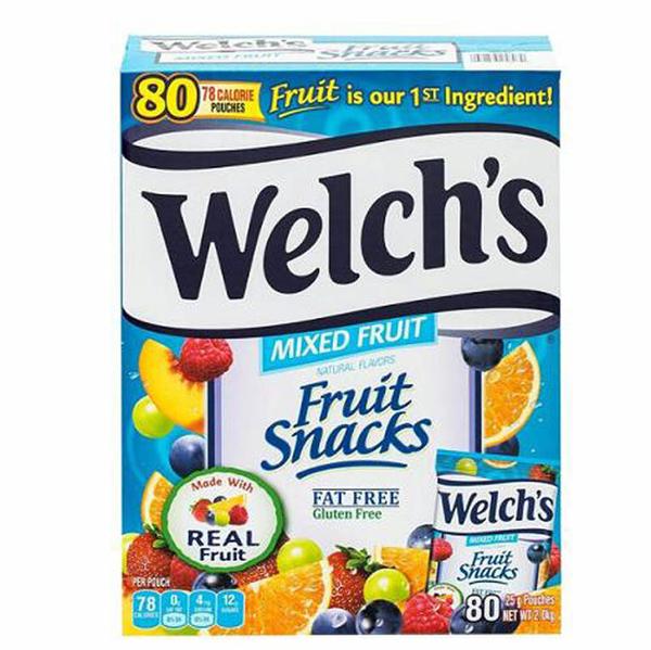 [COSCO代購] C919157 WELCH S FRUIT SNACK 2KG 果汁軟糖2公斤