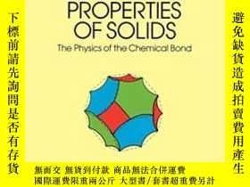 二手書博民逛書店Electronic罕見Structure And The Properties Of SolidsY2555