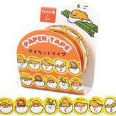 《Sanrio》蛋黃哥花邊裝飾造型紙膠帶(蛋殼人生)_906468