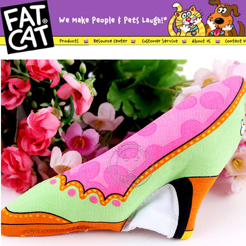 【培菓幸福寵物專營店】美國《FATCAT》bb聲高跟鞋7cm (顏色隨機出貨)11cm