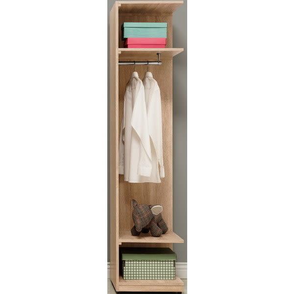 衣櫃 衣櫥 QW-310-4 葛瑞絲1.5尺轉角開放衣櫃【大眾家居舘】