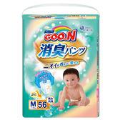 GOO.N 大王-日本境內版 消臭香香褲M56片x3包 箱購 大樹