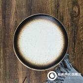 日式創意盤子 陶瓷餐具套裝 家用酒店西餐盤淺盤牛排大號圓盤菜盤