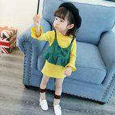 『618好康又一發』女童裙秋裝新款連身裙