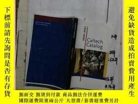 二手書博民逛書店Caltech罕見catalog 2000-2001 加州理工學