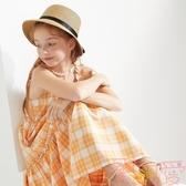 兒童吊帶裙子女童公主裙夏裝大童連身裙【聚可愛】