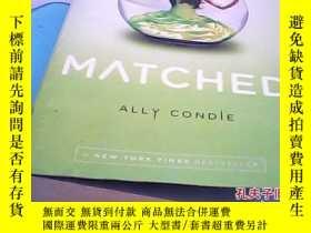 二手書博民逛書店matched罕見匹配Y14530 ally condle dutton 出版2010
