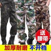 戰術褲 工裝褲男軍褲特種兵戰術作訓褲寬松耐磨勞保服褲子叢林軍訓迷彩褲