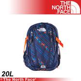 【The North Face 20L 13吋電腦背包《宇宙藍線條》】A3RV-U7L/筆電包/登山包/後背包/雙肩包★滿額送