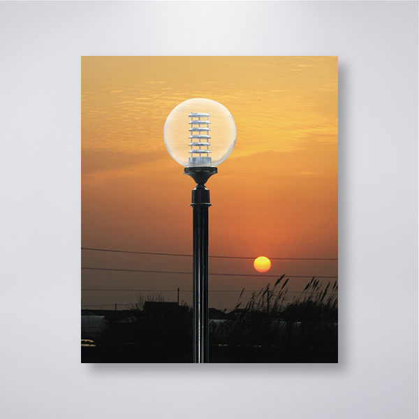 60mm套管 兩英吋半 戶外庭園燈 14吋單燈防水 可客製化 可搭配LED