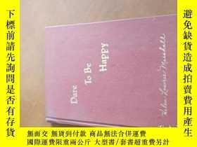 二手書博民逛書店BARE罕見TO BE HAPPYY20470 HELEN LOWRIE MARSHALL HELVERN P