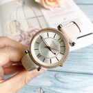 FOSSIL美國品牌CARLIE優雅時尚晶鑽真皮腕錶ES4484公司貨