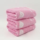 【愛的世界】純棉無捻紗毛巾6入組-粉色 ★用品推薦