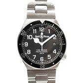 Bell & Ross 柏萊士 黑色面盤潛水石英腕錶 Marine Professional【二手名牌 BRANDOFF】