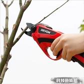 電動剪刀 家用鋰電修枝剪電動充電果樹剪刀剪枝機園林園藝修剪樹枝電剪刀 DF